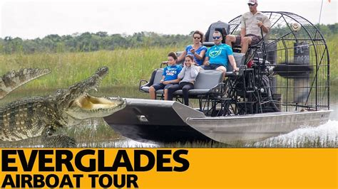 youtube airboat tour everglades everglades airboat tour gator park usa youtube
