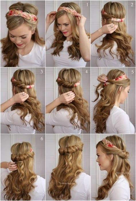 hacks for hairstyles tuck and cover half hairdo tutorial pictures photos and