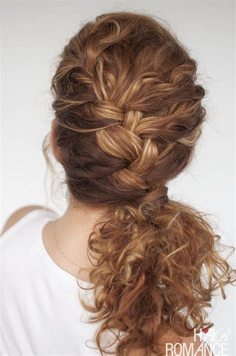 everyday curly hairstyles hair romance 25 best images about acconciature on pinterest