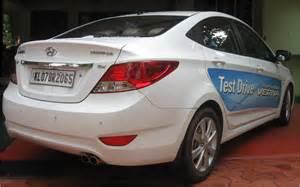 Car Tyres For Hyundai Verna Fluidic New Hyundai Fluidic Verna Test Drive Review The