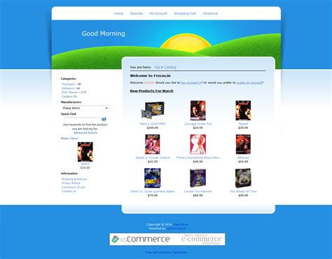 chrome theme that says good morning ecommerce themes good morning free fixed width