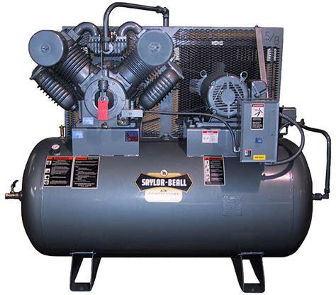saylor beall fp  hp full pack air compressor