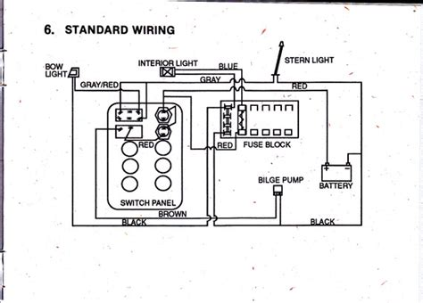 pin generic boat wiring diagram by silvertip on