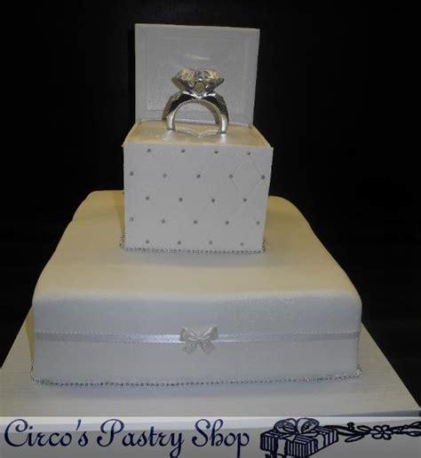 ring birthday cake italian bakery fondant wedding cakes pastries