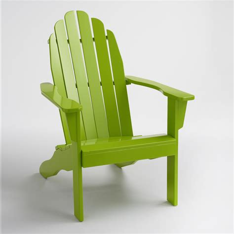Adirondack Chairs World Market by Foliage Green Adirondack Chair World Market