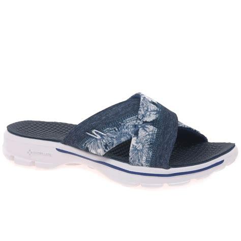 skechers go walk sandals skechers go walk fiji casual sandals charles clinkard