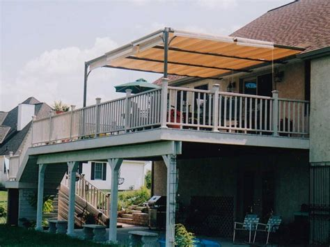 Awning For Deck by Triyae Deck Canopy Ideas Various Design