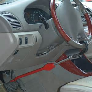 Steering Wheel And Pedal Lock Car Steering Pedal Lock Electronics 4 India