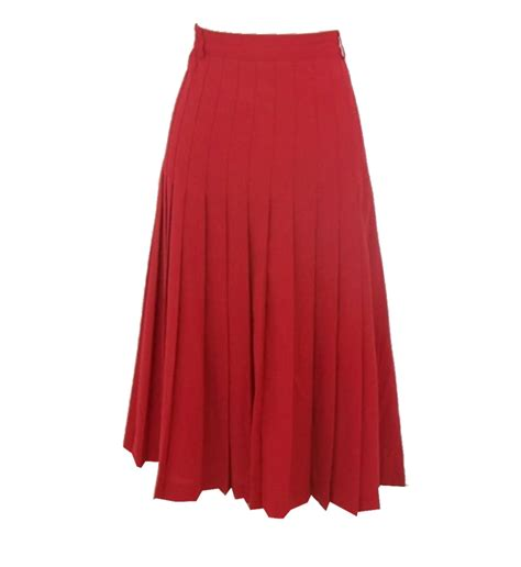 linen pleated skirt elizabeth s custom skirts