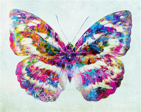 colorful butterfly colorful butterfly mixed media by olga hamilton