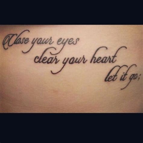 tattoos with deep meanings the quote has such a meaning to me and the added semi