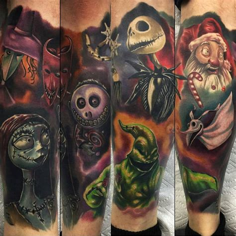 75 best nightmare before christmas tattoo design ideas 2018