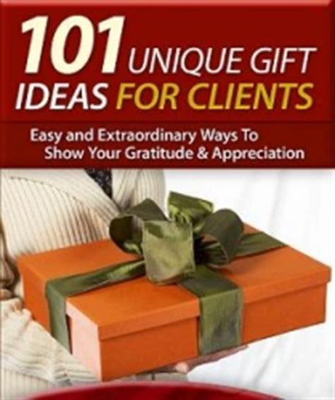 client appreciation new report offers 101 unique gift