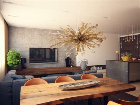 wohnzimmer holz modern wohnzimmer tisch design