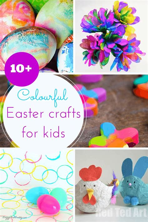 easter crafts for 10 colourful easter crafts for toddlers