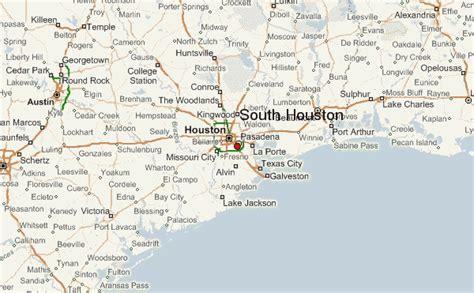 houston mapa estados unidos south houston location guide