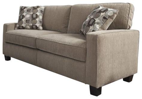 santa cruz sofa serta santa cruz sofa in platinum fabric transitional