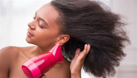 Hair Dryer Hair Damage how to textured hair without damage