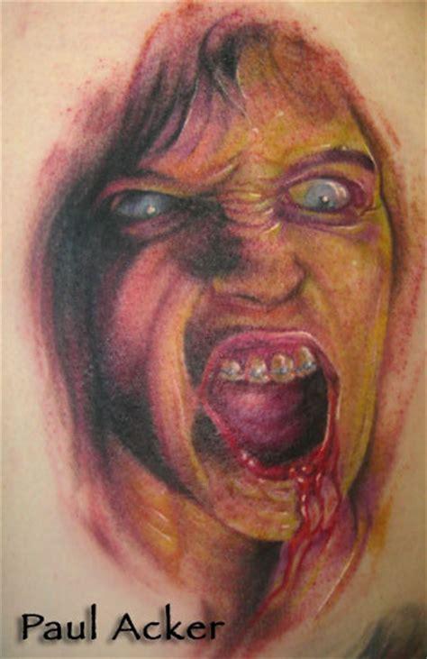living dead tattoo living dead by paul acker tattoonow