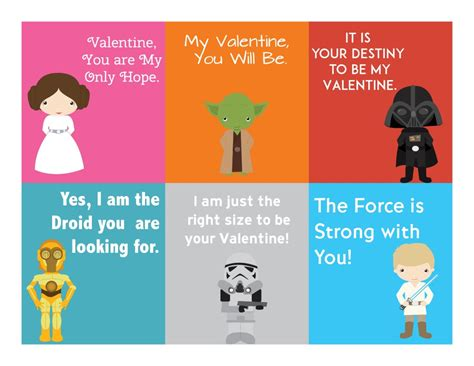 Wars S Day Card Printables