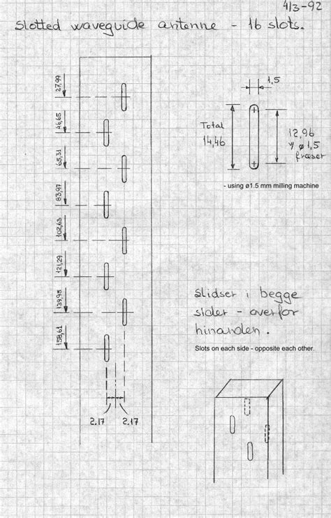 ghz waveguide slot antenna