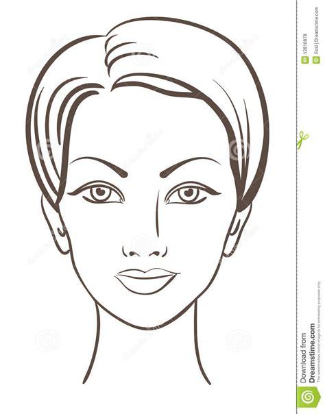 imagenes libres caras ilustraci 243 n hermosa del vector de la cara de la mujer