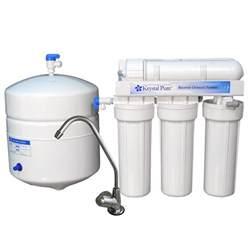Odor Under Kitchen Sink - shop krystal pure kr10 reverse osmosis under sink water filtration system at lowes com