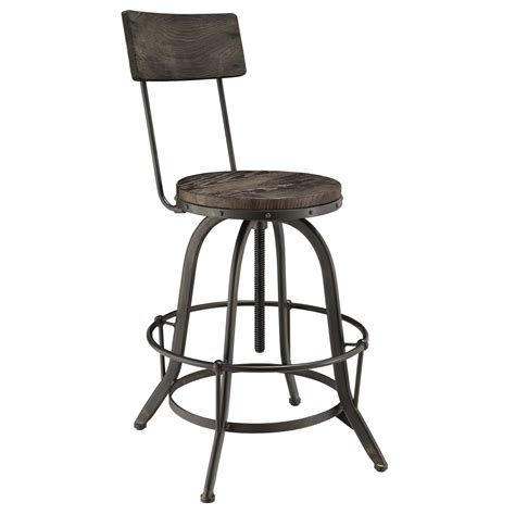 modern industrial bar stools procure industrial modern wood bar stool with cast iron