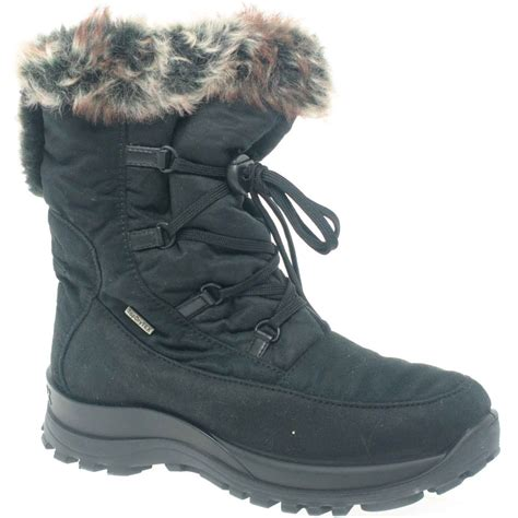 snow boots for black snow boots for womens waterproof yu boots