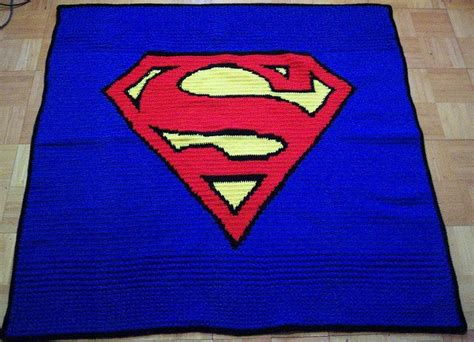 crochet superman logo pattern free 10 best images about knit and crochet on pinterest