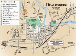 map of healdsburg 101 things to do wine country