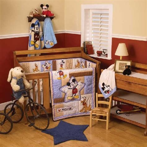 mickey mouse baby bedroom mickey mouse baby bedding inspired by disney for your girl decoist