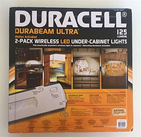 duracell led under cabinet duracell led under cabinet light 2 pack in the uae see