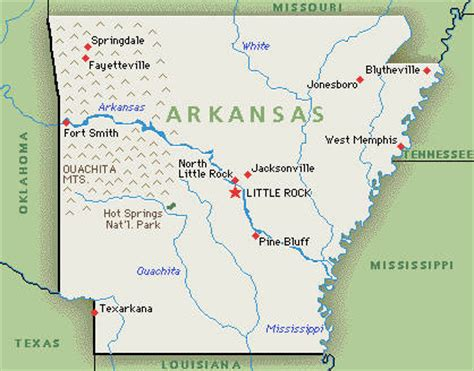 us map arkansas state arkansas family attractions hotel 4
