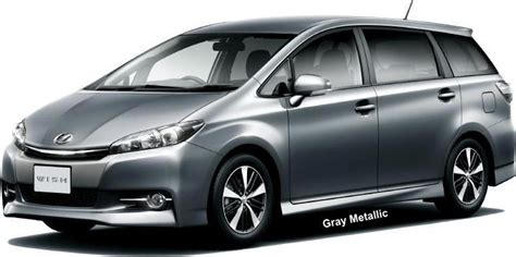 Toyota Wish New Toyota Wish Color Photo Exterior Colour Picture