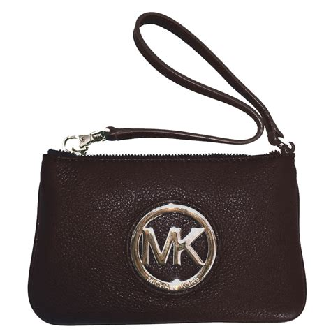 Michael Kors Fulton Wristlet snap n zip fashion accessories michael michael kors fulton wristlet gold