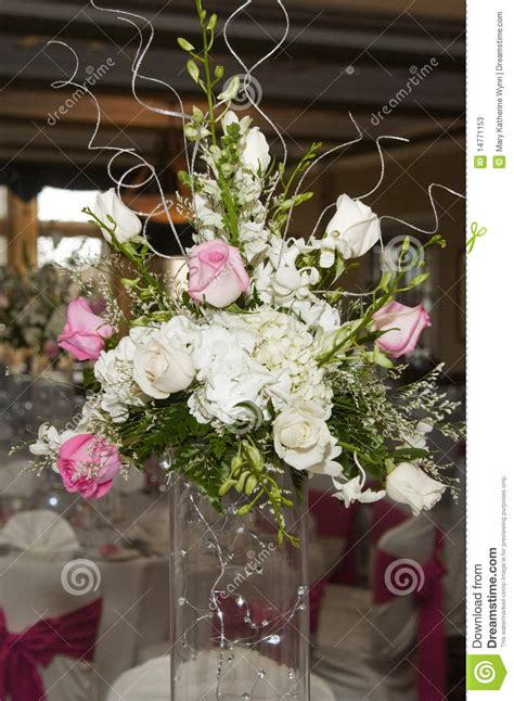 wedding flower arrangement photos wedding floral table arrangement stock image image of