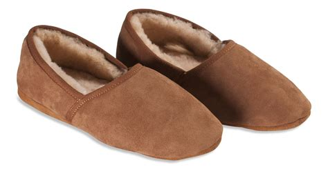 soft sole slippers nordvek premium mens genuine sheepskin slippers soft sole