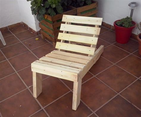 Quick Patio Ideas Pallet Wood Lounge Chair