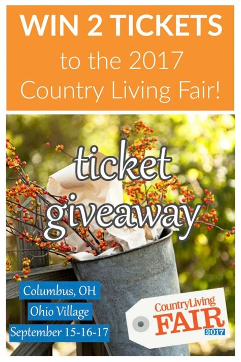 Country Living Giveaways - country living fair 2017 ticket giveaway two purple couches