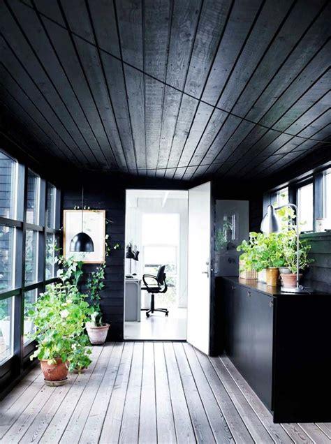 scandinavian farmhouse design a scandinavian farmhouse in black white the style