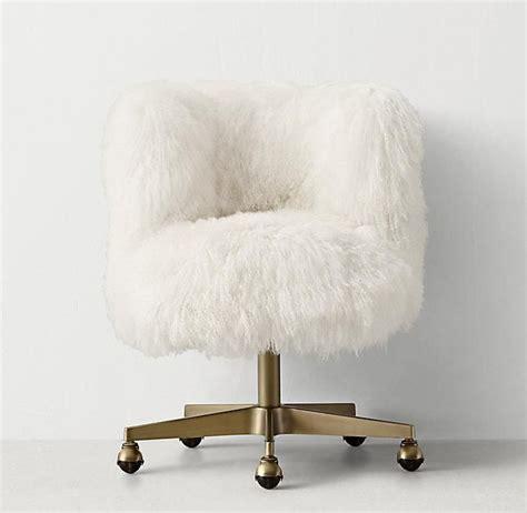 white faux fur desk chair white faux fur desk chair antprotein com