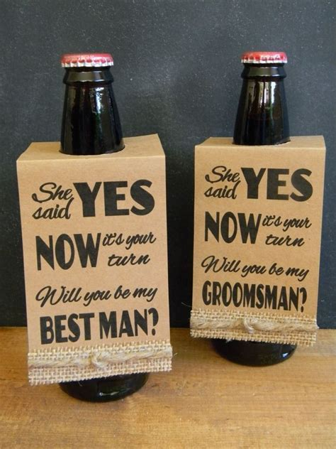 "Free ""Will You Be My Bridesmaid?"" Printables!   Groom"