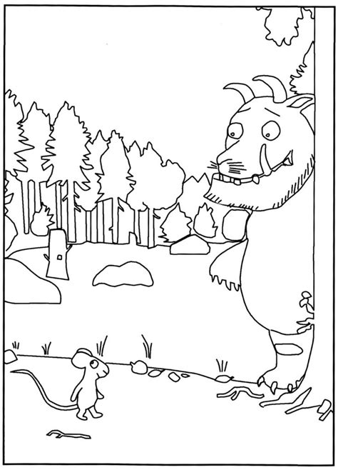 O Grufalão   Libro infantil, El cuento actividades
