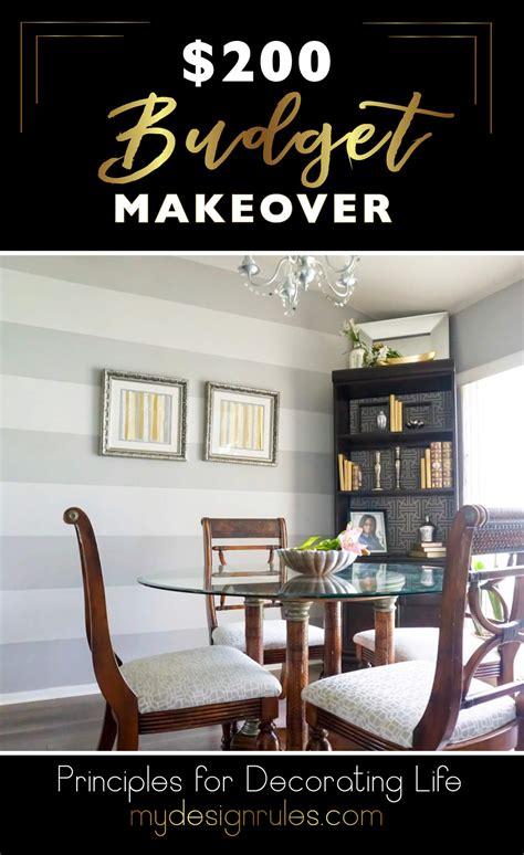 Dining Room Makeover On A Budget 200 Budget Dining Room Makeover My Design