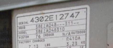 how can i tell if my air conditioner capacitor is bad how can i tell the age of a carrier air conditioner from the serial number