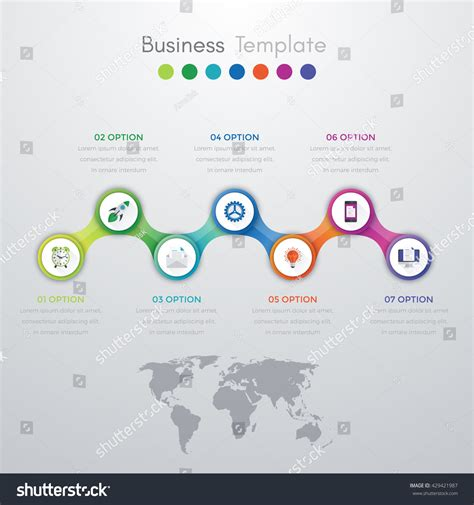infographic templates for business vector illustration vector illustration infographics template brochure
