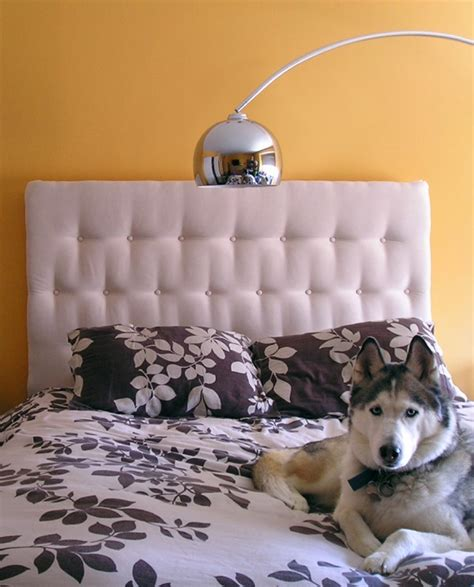 diy headboard tutorial new tufted headboard for master bedroom