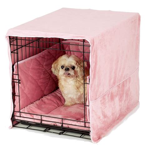 dog bedding set plush dog crate bedding crate bed covers bumpers