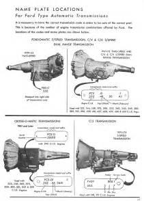 ford c6 transmission identification car interior design